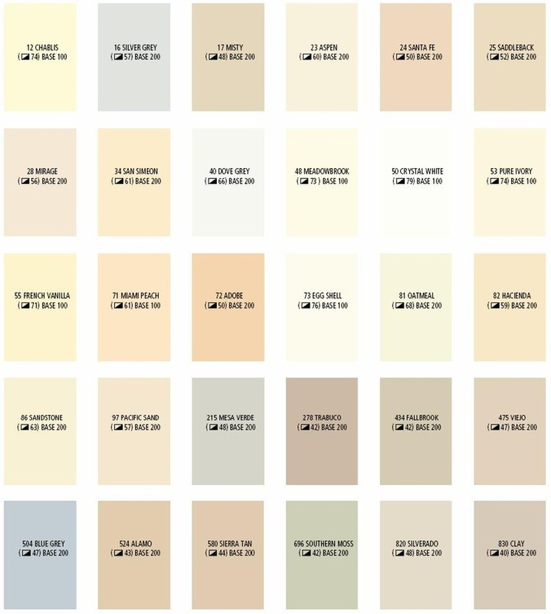 Stucco Color Chart Ibovnathandedecker